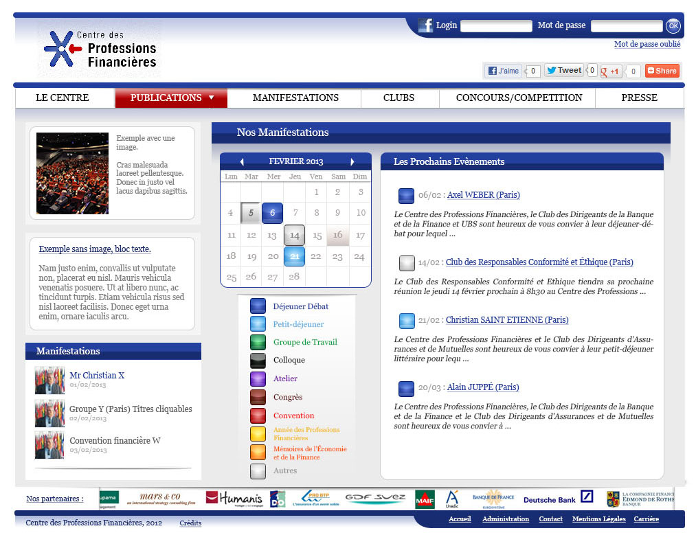 Page nos manifestations_prochains evenements 1.0