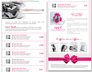 Endermospa-paris emailing